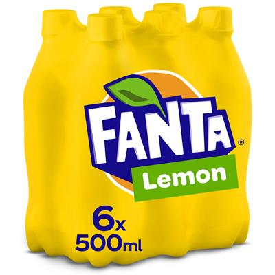 Fanta Lemon pet 4x50cl 6-pack | Ameel Candy World