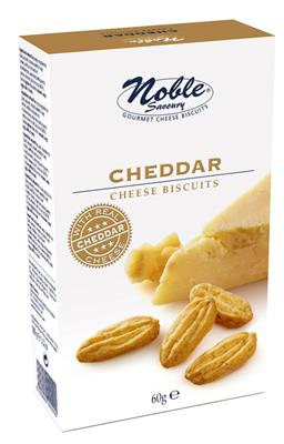 Noble Cheddar Cheese Biscuits 10x60g   Ameel Candy World